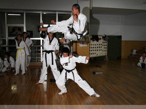 跆拳道培训分为那五个阶段