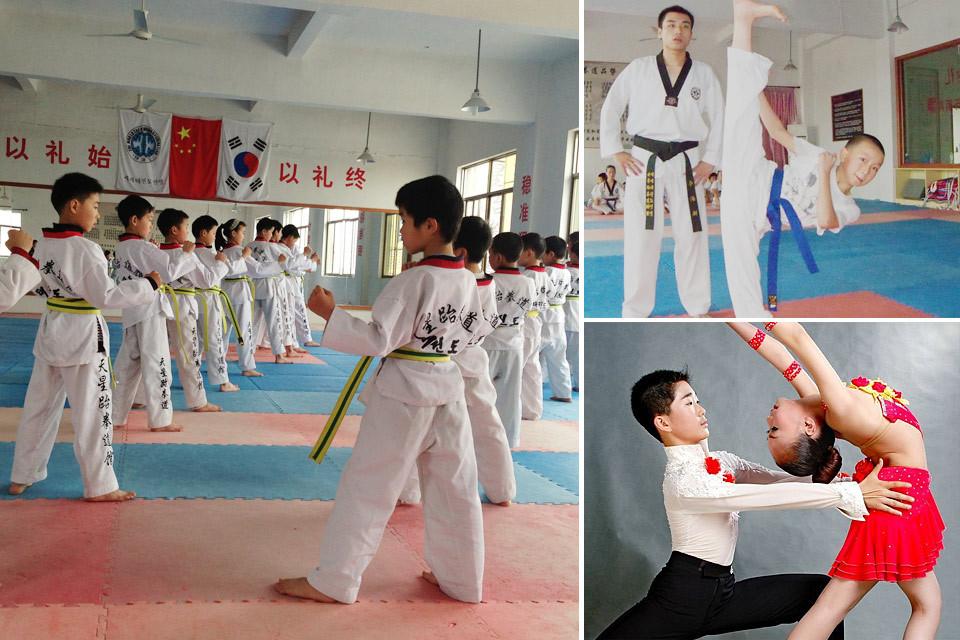 让孩子学习跆拳道有什么好处